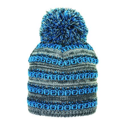 Sterntaler pletená čepice antracitová melanž