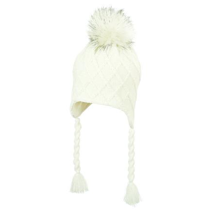 Sterntaler Cappello a maglia ecru