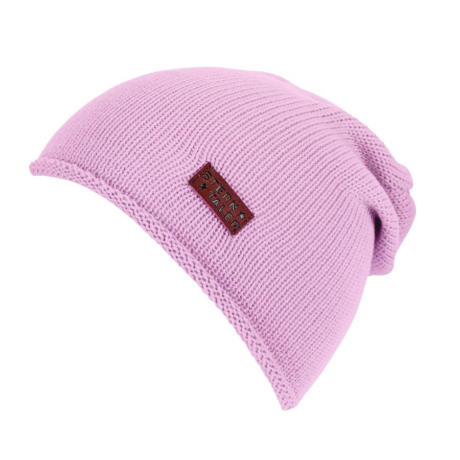 Sterntaler Casquette tricotée rose
