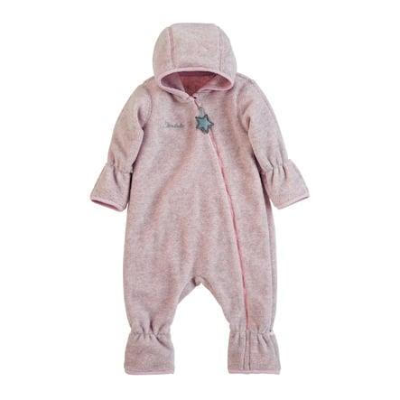 Sterntaler Overall fleece pink melange