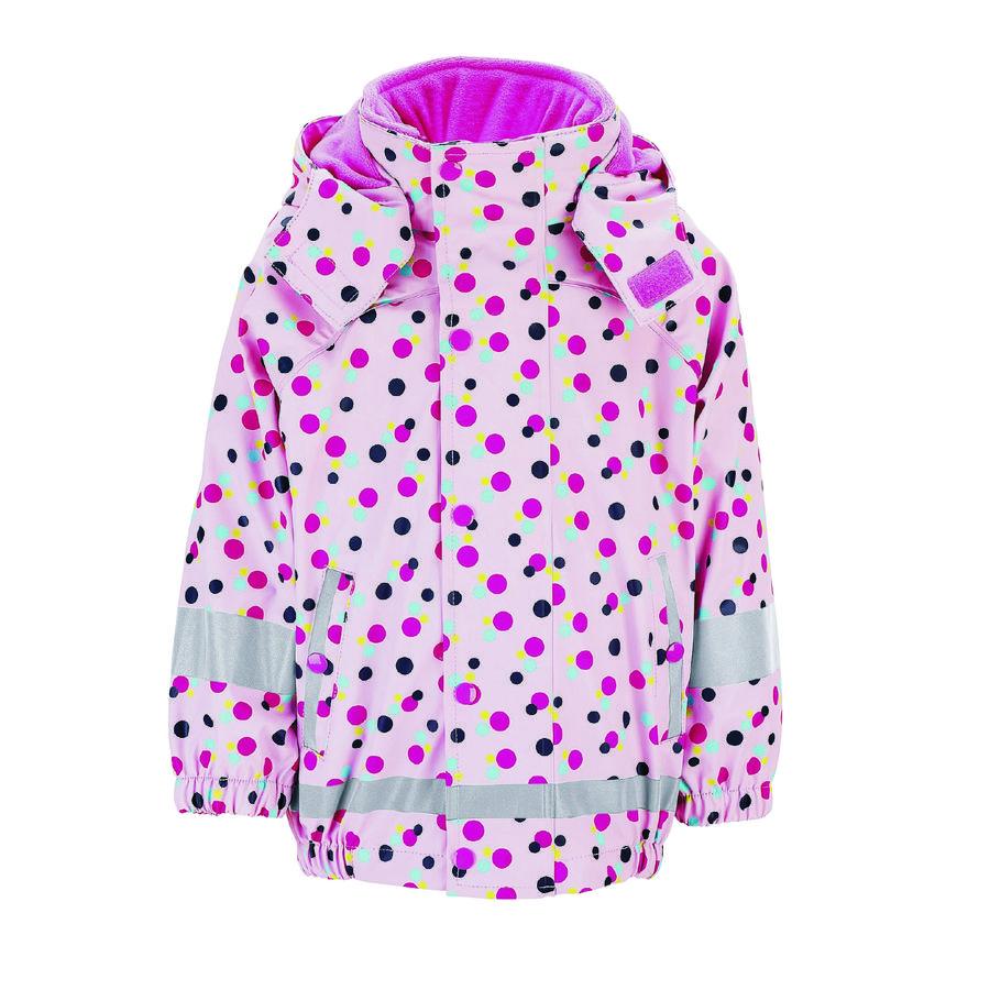 Sterntaler bunda do deště s vnitřní bundou růžová
