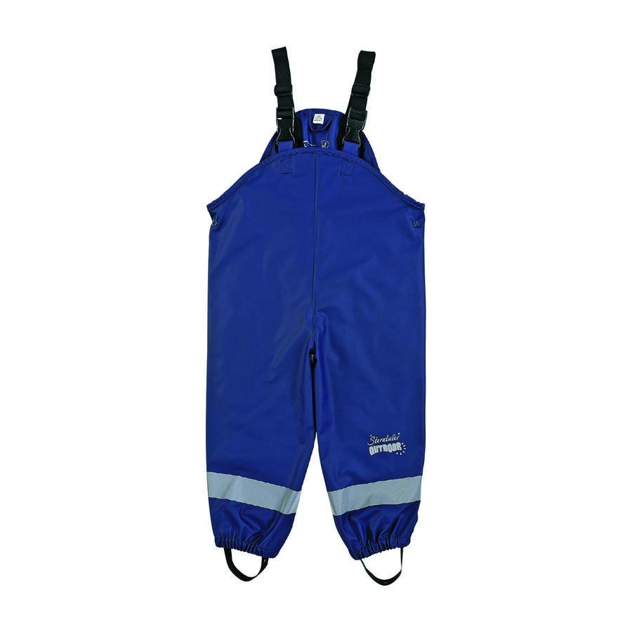 Sterntaler kalhoty do deště s náprsenkou bez podšívky námořní
