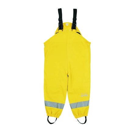Sterntaler kalhoty do deště lemované žlutou barvou