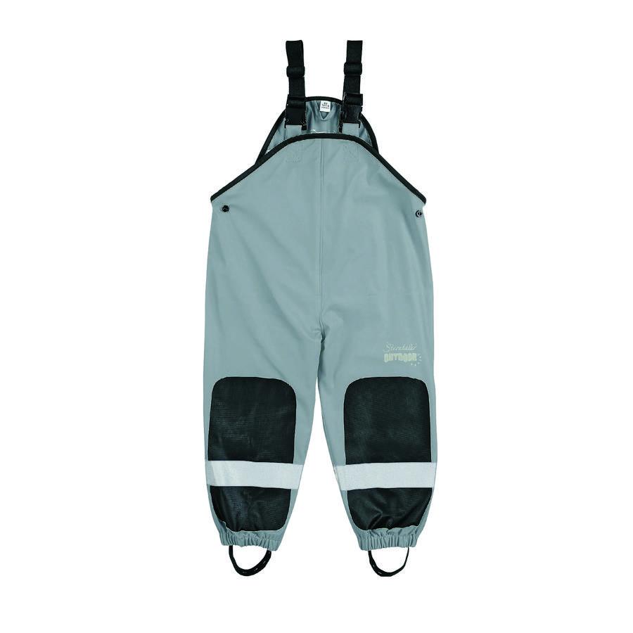 Sterntaler Los pantalones de lluvia funcionales son grises como el humo.