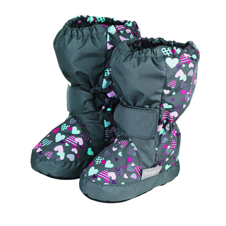 Sterntaler Zapatos de bebé de hierro gris