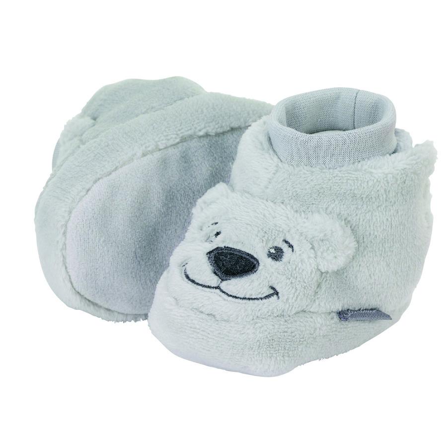 Sterntaler Baby-Schuh hellgrau