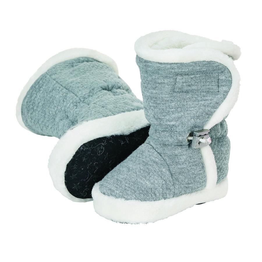 Sterntaler Baby-Schuh rauchgrau