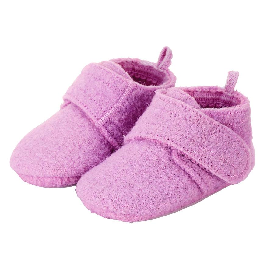 Sterntaler Chaussure de bébé rampant violet clair