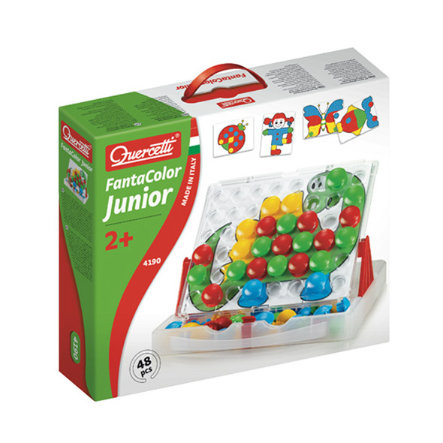 beluga Quercetti - Jeu à enficher Fanta Color Junior 48