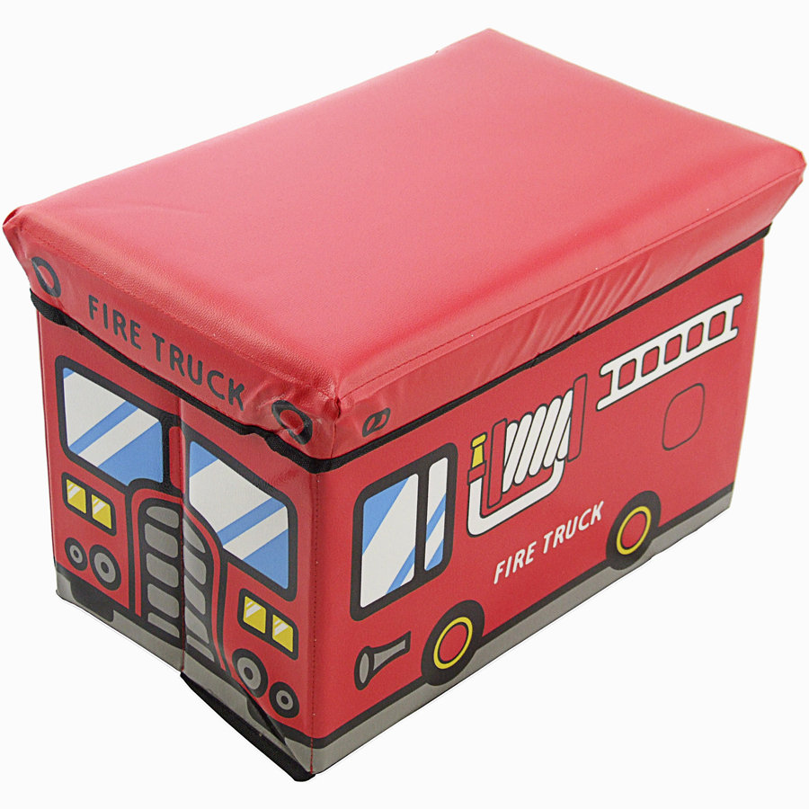 BIECO Storage Box and Bench Fire Truck