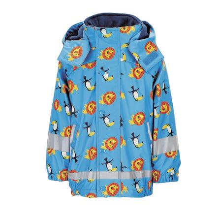 Sterntaler Veste de pluie avec veste intérieure bleu azur