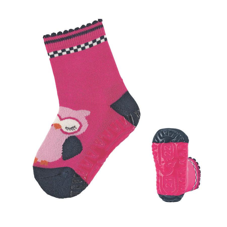 Sterntaler ponožky  Air Owl purpurový