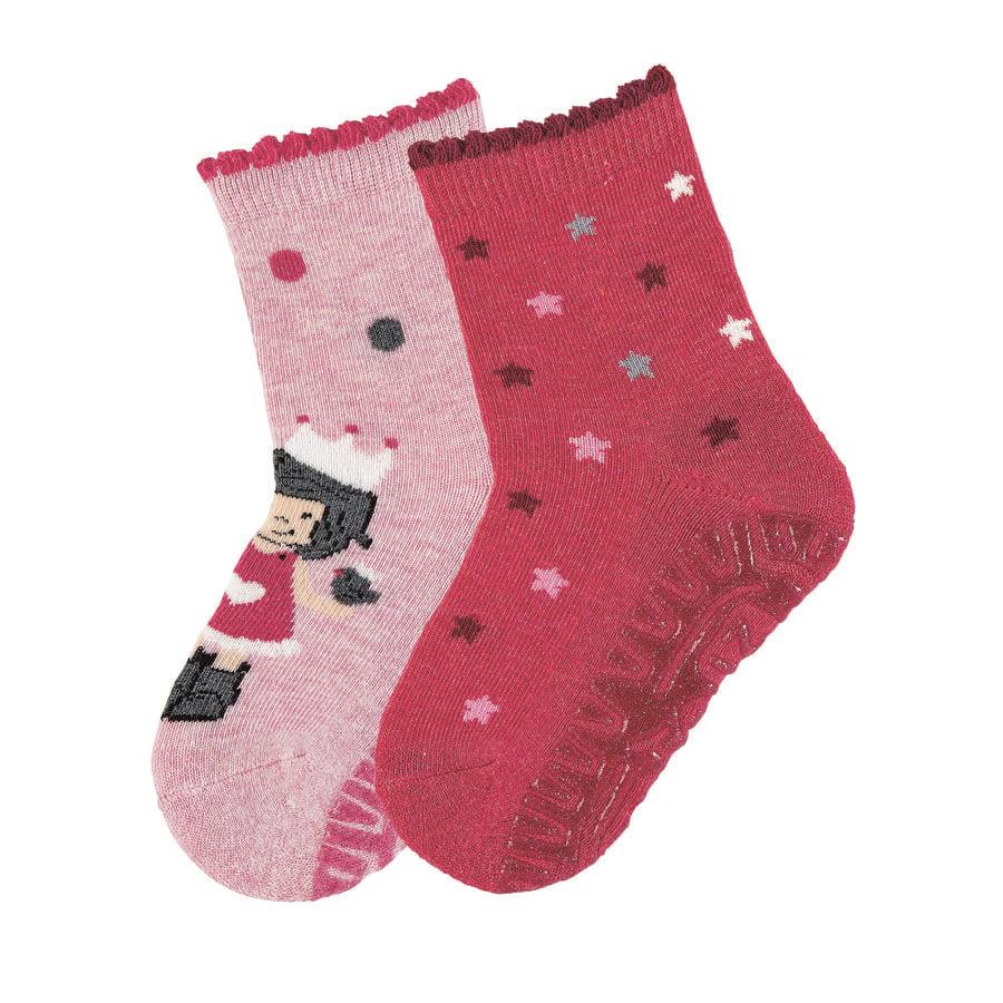 Sterntaler Glittering Air dobbeltpakke prinsesse / stjerner pink melange