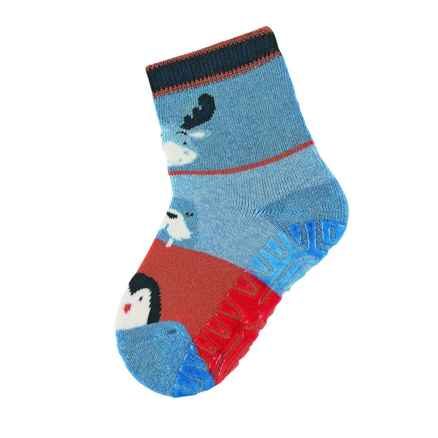 Sterntaler ponožky Soft Elk středně modrá melanž