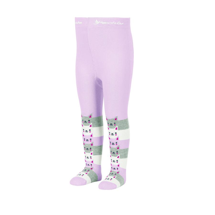 Sterntaler Pantimedias gato rosa