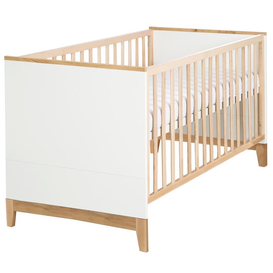 roba Kombi-Kinderbett Finn Bettfüße in Goldleiche