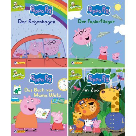CARLSEN Nelson-Mini-Bücher: 4er Peppa 9-12