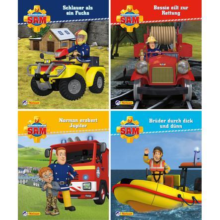 CARLSEN Nelson-Mini-Bücher: 4er Feuerwehrmann Sam 13-16
