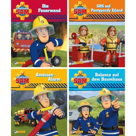 CARLSEN Nelson-Mini-Bücher: 4er Feuerwehrmann Sam 9-12