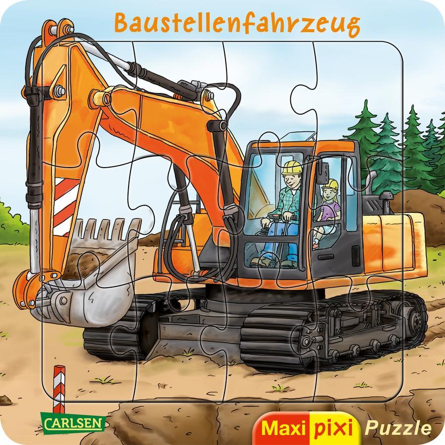 CARLSEN Maxi Pixi: Maxi-Pixi-Puzzle: Baustellenfahrzeug