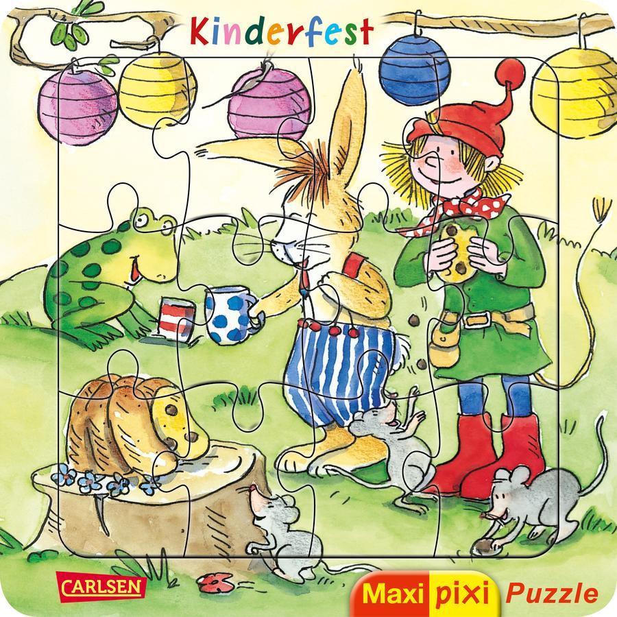 CARLSEN Maxi Pixi: Maxi-Pixi-Puzzle: Kinderfest