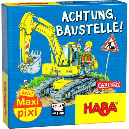 CARLSEN Maxi Pixi Spiel: Achtung, Baustelle!
