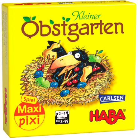"CARLSEN Maxi Pixi-Spiel ""made by haba"" Obstgarten"