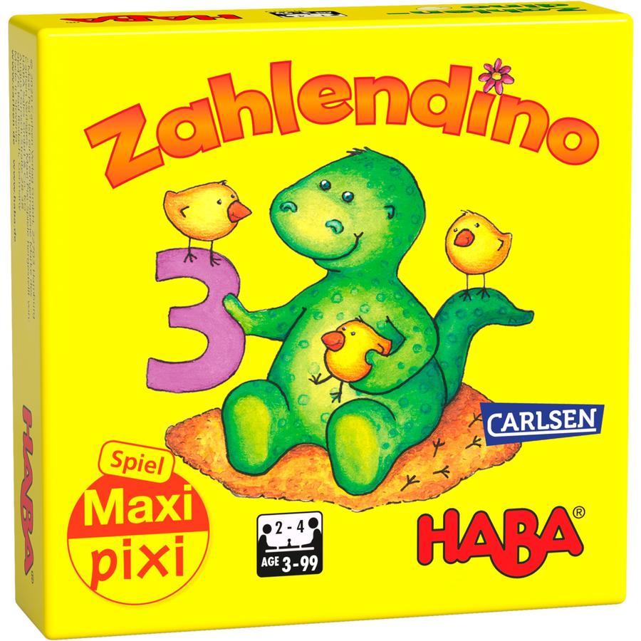 "CARLSEN Maxi Pixi-Spiel ""made by haba"" Zahlendino"
