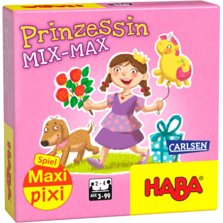 "CARLSEN Maxi Pixi-Spiel ""made by haba"" Prinzessin Mix-Max"