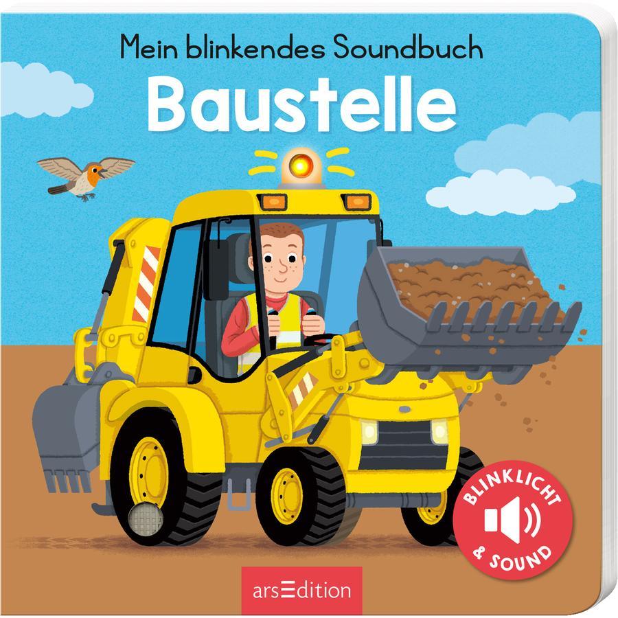 arsEdition Mein blinkendes Soundbuch-Auf der Baustelle