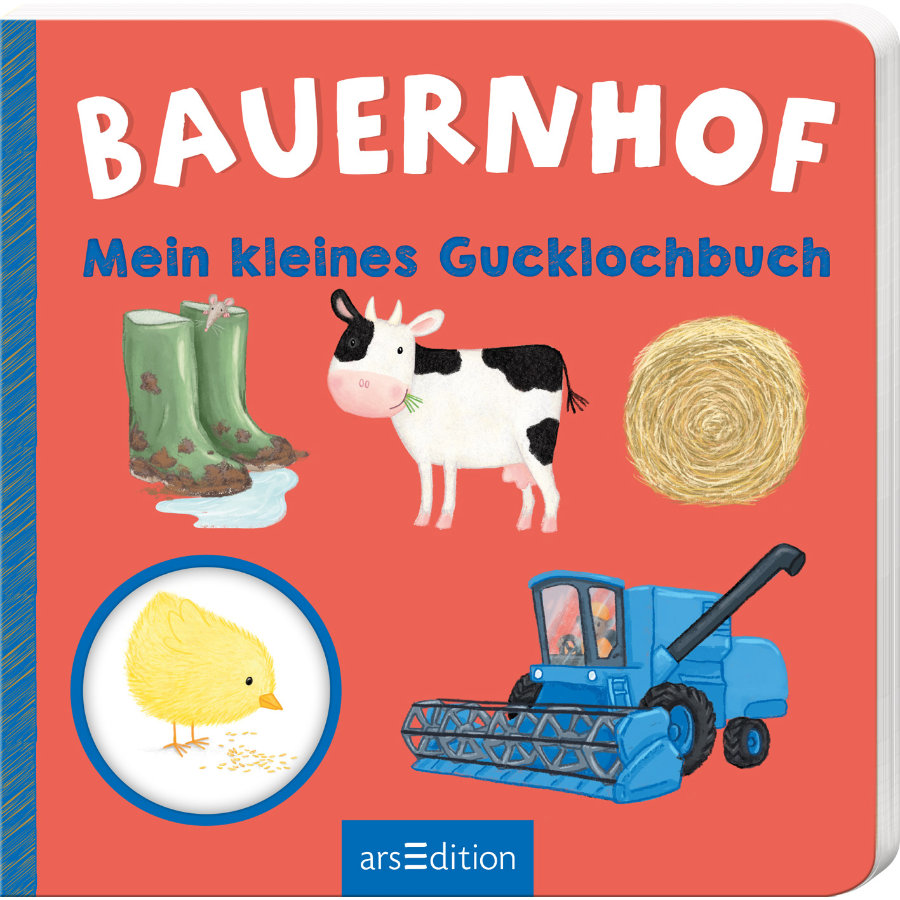 Mein kleines Gucklochbuch: Bauernhof