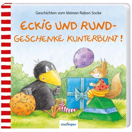 Esslinger Der kleine Rabe Socke: Eckig und Rund-Geschenke kunterbunt!
