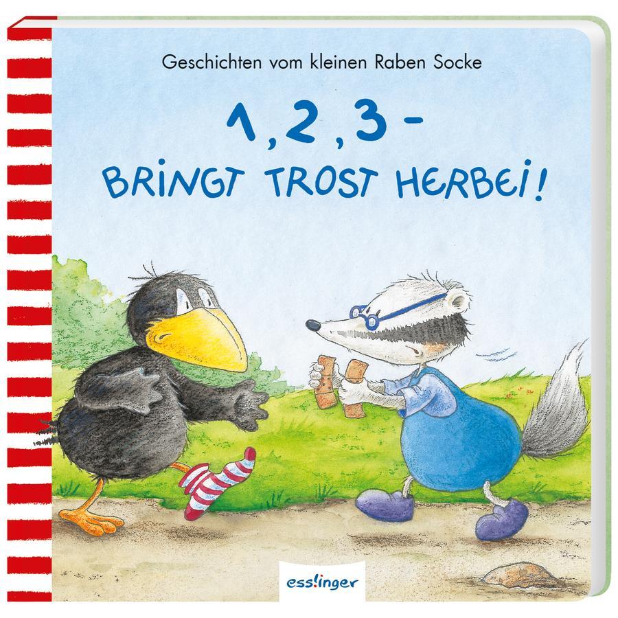Esslinger Der kleine Rabe Socke: 1,2,3-bringt Trost herbei!