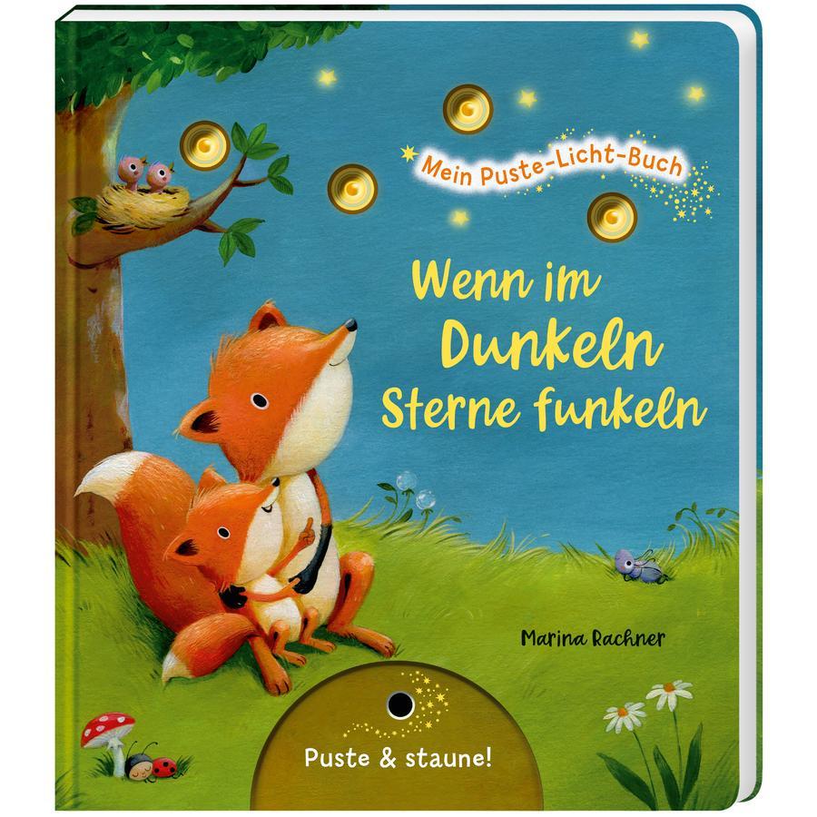 Esslinger Mein Puste-Licht-Buch: Wenn im Dunkeln Sterne funkeln