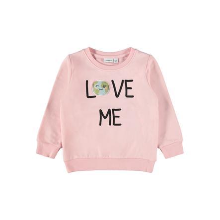 name it Girls Sweatshirt NMFLAPLANET Coral Blush