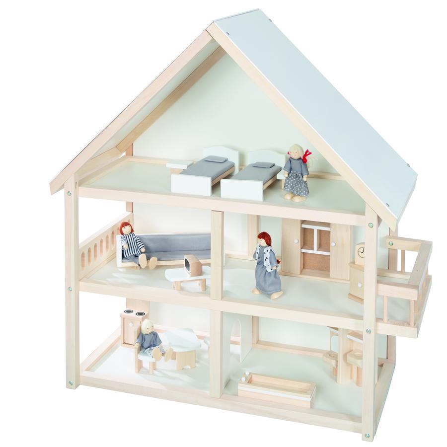 roba domeček pro panenky dřevěný