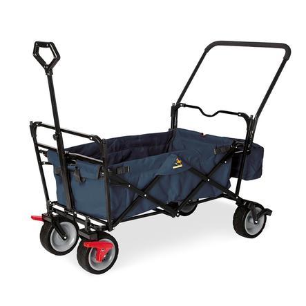 Pinolino Klappbollerwagen Paxi dlx Comfort mit Bremse marineblau