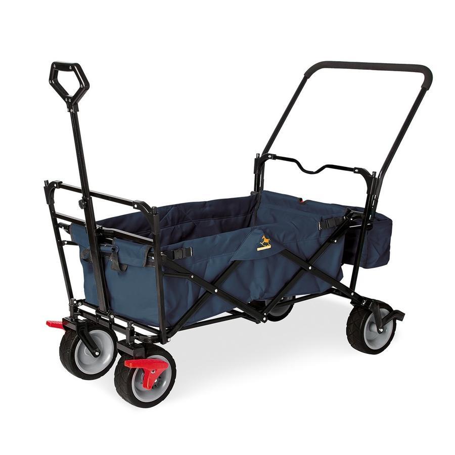 Pinolino Sammenleggbar Vogn Paxi dlx Comfort med bremser Marineblå