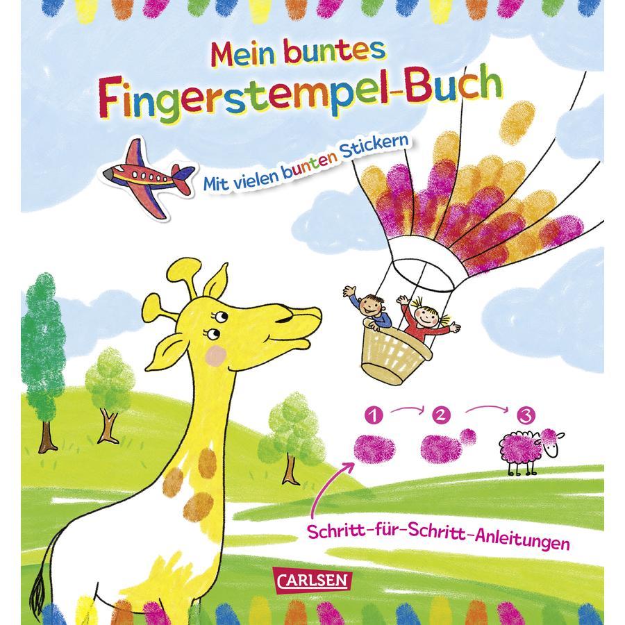 CARLSEN Mein buntes Fingerstempel-Malbuch