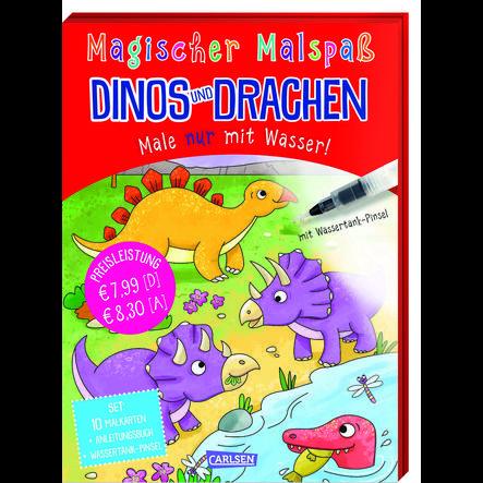 CARLSEN Magischer Malspaß: Dinos und Drachen