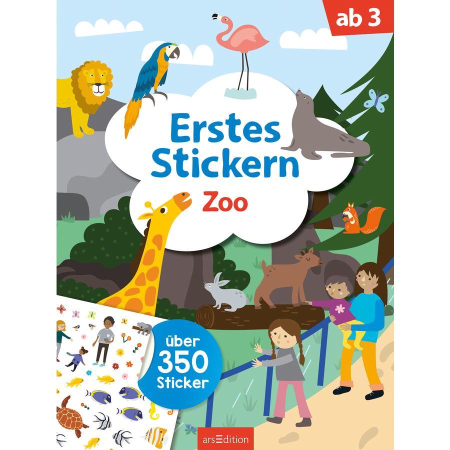 arsEdition Mein erstes Stickern Zoo