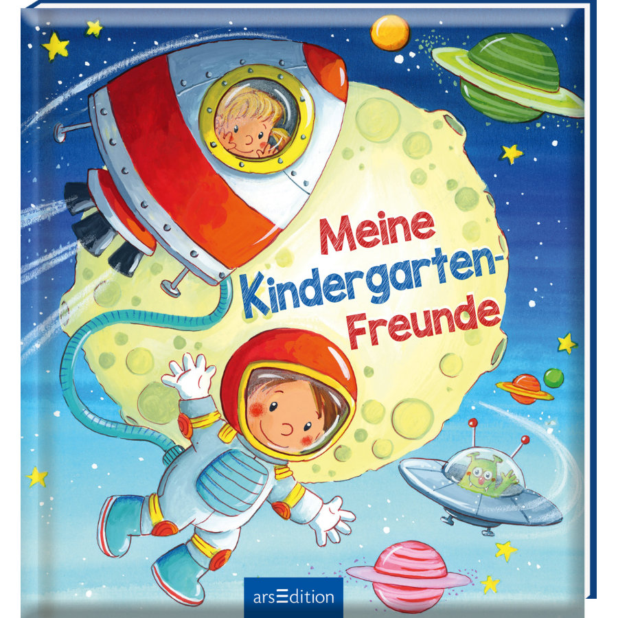 arsEdition Meine Kindergarten-Freunde (Weltraum)