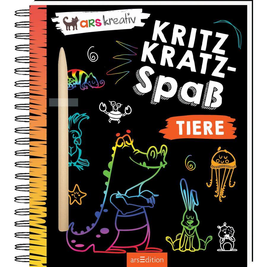 arsEdition Kritzkratz-Spaß Tiere