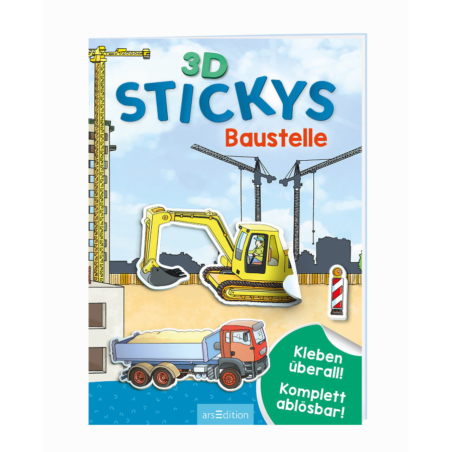 arsEdition 3D-Stickys Baustelle