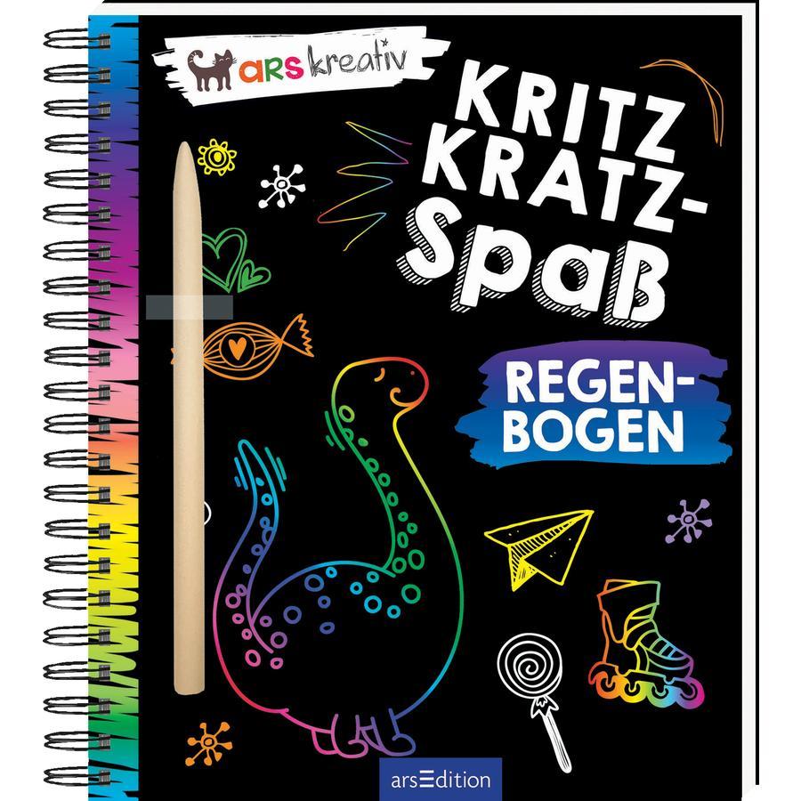 arsEdition Kritzkratz-Spaß Regenbogen