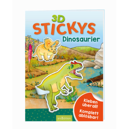 arsEdition 3D-Stickys Dinosaurier