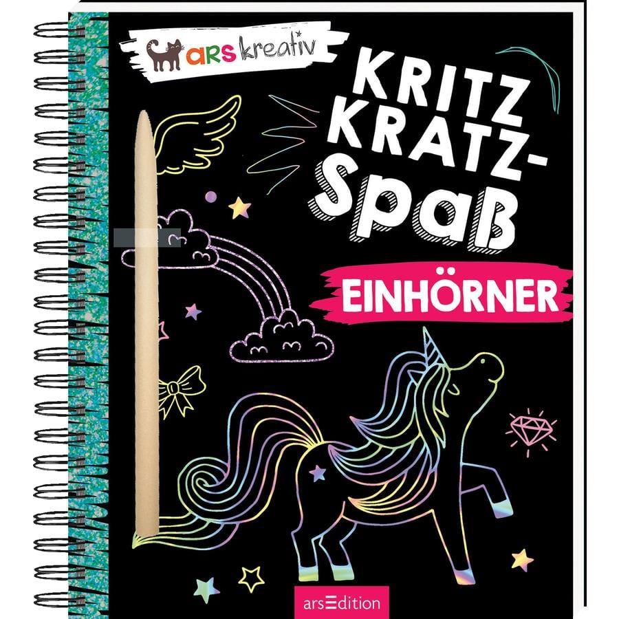 arsEdition Kritzkratz-Spaß Einhörner