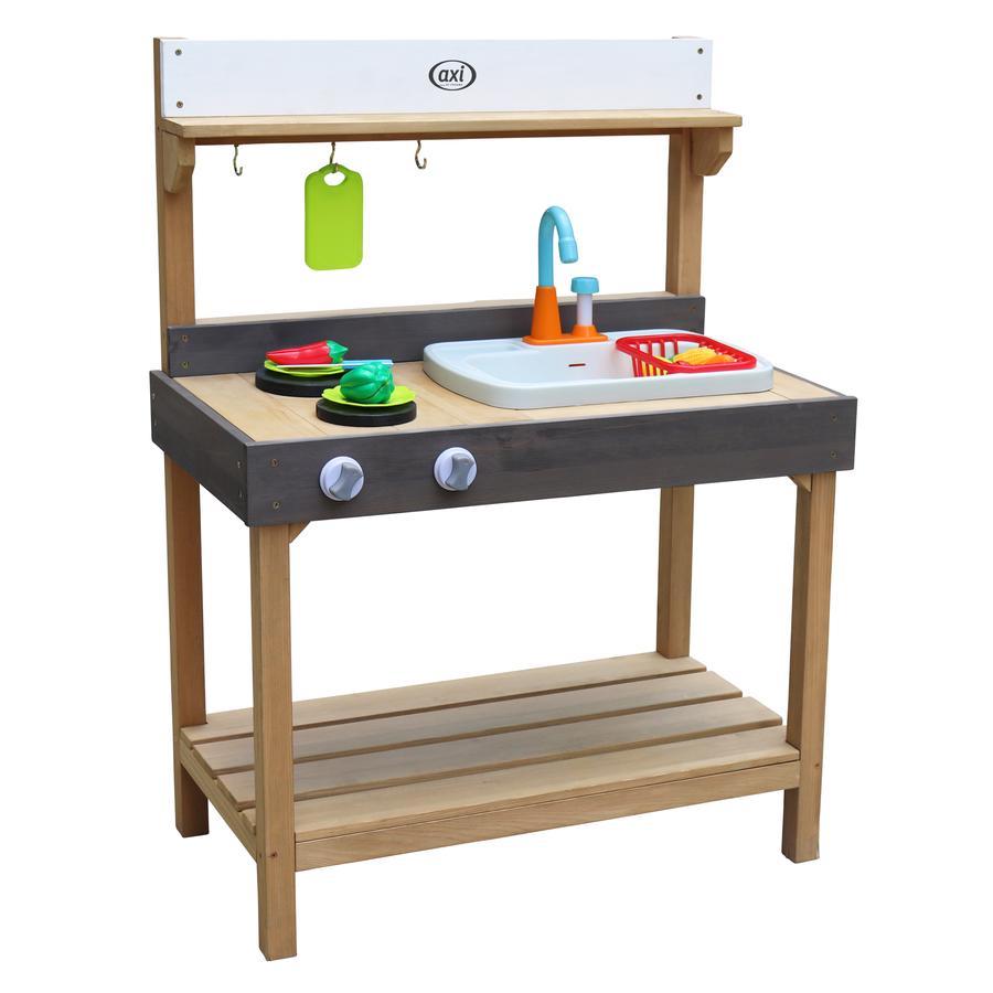 axi Table enfant pour jeux d'eau/sable Rosa, bois moyenne