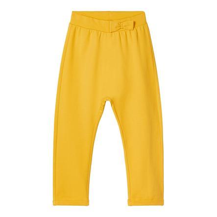 name it Spodnie dresowe NMFLA SOLID Pikantna musztarda