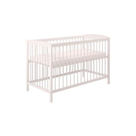 Polini Kids Kinderbett Simple 101 weiß